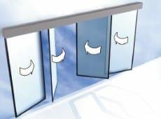 דלת קורסת, דלת מילוט